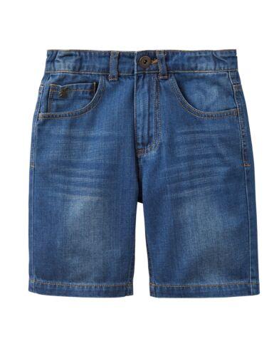 *BNWT* Joules Boys Ross Denim Stonewashed Blue Shorts Cotton