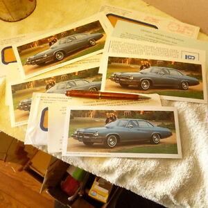 1973 Buick Century Luxus General Motors Corp Stock Dividend Promo Cards Ebay