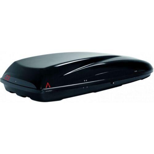 BOX AUTO PORTABAGAGLI G3 HELIOS 480 NERO METAL MADE IN ITALY DOPPIA APERTURA
