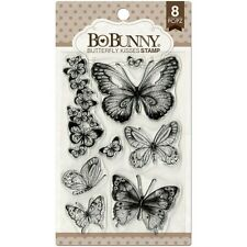 New Bo Bunny Clear Stamps Butterfly Kisses