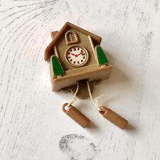 Vintage Sylvanian Families Tomy HTF Spares   Cuckoo Wall Clock