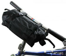 """New Cycling bicycle Folding Bike Carrier Bag Carry Bag 14""""-20"""" + Poucher Black"""