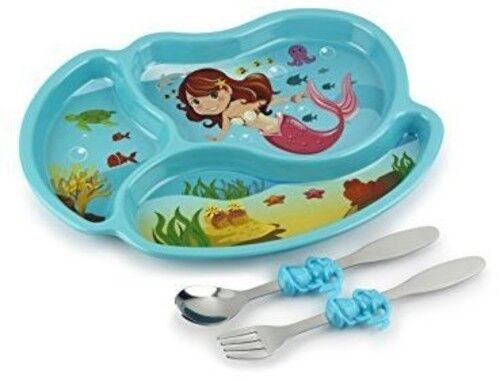Other Blue Mermaid Meal Set Kidsfunwares Me Time