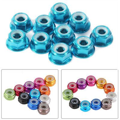 20PCS CW CCW M2//M3//M4//M5//M6 Nylon Insert Self-Lock Nuts Hex Lock Nut 11 Colors