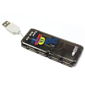 NEW-4-Port-Mini-USB-2-0-HUB-High-Speed-480-Mbps-PC-Slim