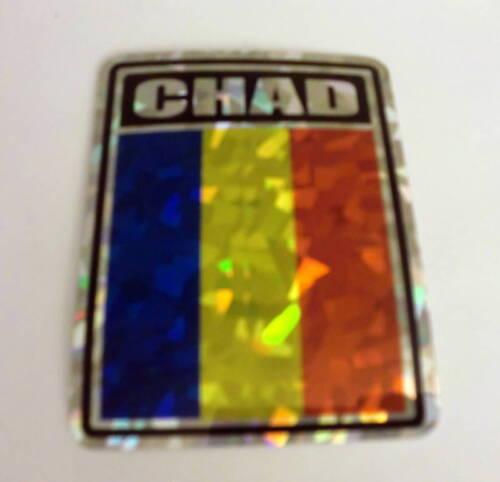 """Decal Chad Flag /""""3x4/"""" Chad Sticker"""