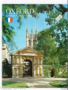 OXFORD La Ville et l'Université - France - État : Trs bon état: Livre qui ne semble pas neuf, ayant déj été lu, mais qui est toujours en excellent état. La couverture ne présente aucun dommage apparent. Pour les couvertures rigides, la jaquette (si applicable) est incluse. Aucune p - France