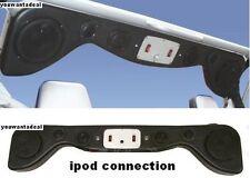 New 6-speakers Jeep Wrangler Soundbar Sound Bar W/ipod/iphone/mp3 conection