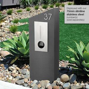 Milkcan Design Barcelona Grey Concrete Letterbox 304