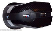 Genuine BMW ///M CARBON FIBER WIRELESS LASER OPTICAL MOUSE PC MAC APPLE COMPUTER
