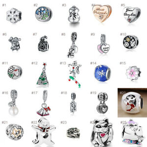 Charms-Bead-European-Charm-Alloy-Silver-Pendant-Fit-925-sterling-Bracelets-Chain