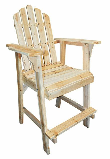 Counter High Adirondack Chair