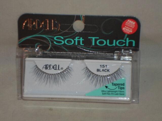 ca2c333d045 Ardell Soft Touch False Eyelashes 151 Black for sale online | eBay