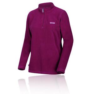 Regatta-Womens-Sweethart-Half-Zip-Fleece-Top-Pink-Sports-Outdoors-Breathable