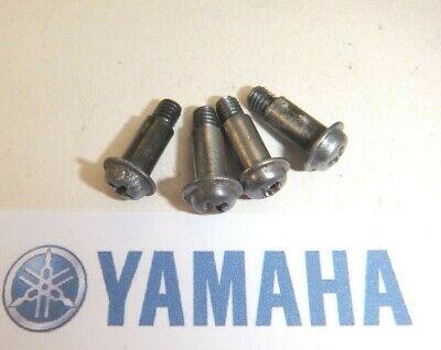 YAMAHA YZF600 R6 5EB 1998-2002 CARB CARBURETTOR TOP CAP BOLTS SCREWS X4
