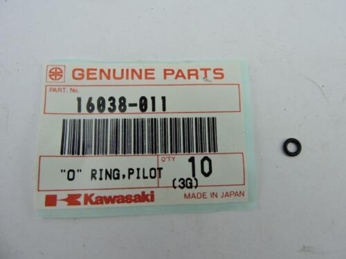 16038-011 NOS Kawasaki Pilot Screw O-Ring KZ400 1970s Y236v
