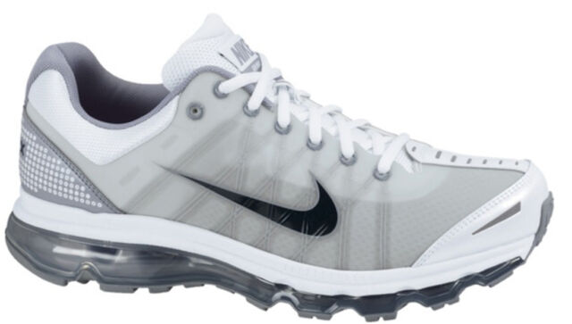 super popular ecd9d 0e52f Size 15 Nike Men Air Max 2009 486978 101 Grey White Black