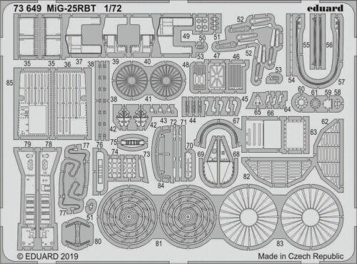 Neu MiG-25RBT for ICM Eduard Accessories 73649 1:72