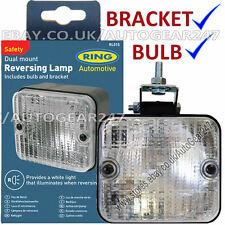 Ring RL015 Universal Square Rear Bumper Mount Clear/White Reverse Reversing Lamp