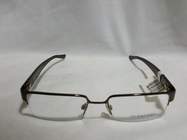 Burberry Men's Dark Brown B 1110 1031 53 18 140 Eyeglasses Made in Italy glasses