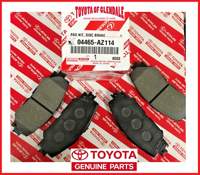 Front OEM Ceramic Brake Pads w//o Shims 04465-AZ114 Toyota Matrix 2008-2013