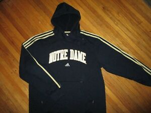 fa7a3ae2 Image is loading UNIVERSITY-OF-NOTRE-DAME-HOODIE-Fighting-Irish-ADIDAS-
