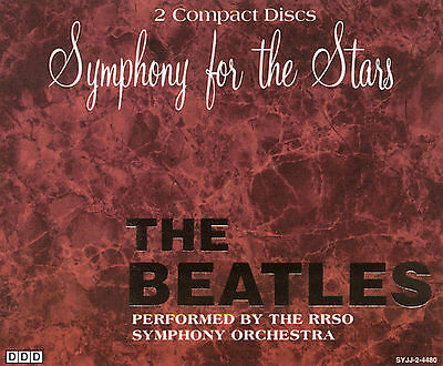 Symphony for the Stars: The Beatles Riga Recording Studio Orchestra CD 2 disc