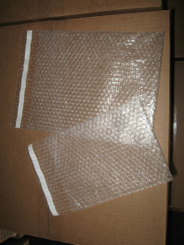 """Clear Self-Seal Bubble Pouch Combo 100-7/"""" x 9/"""" /& 100-9/"""" x 11/"""""""