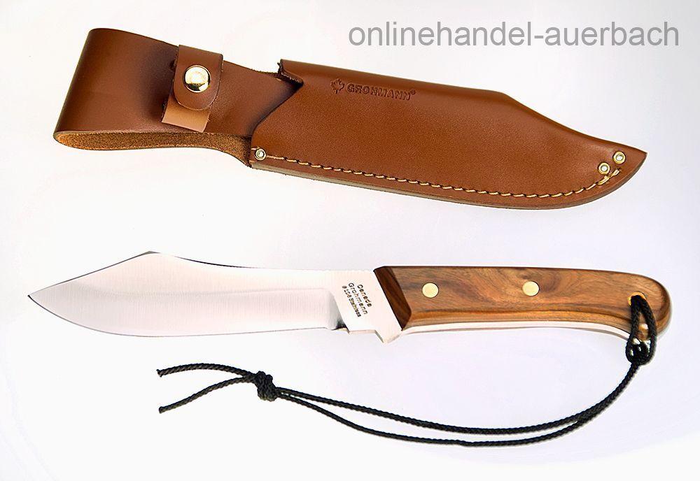 GROHMANN KNIVES Deer & & & Moose Rosewood   Messer Outdoormesser 34e0cb