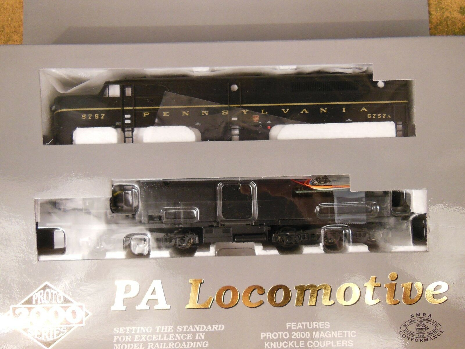Ho Projoo 2000 Pennsylvania PA   5757a Locomotora Dcc Equipado