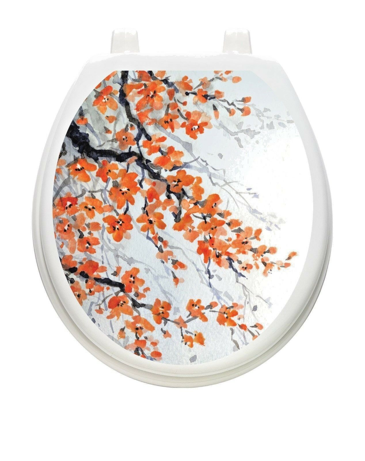 Toilet Tattoos Toilet Seat Cover Decal Sweety Seaty Size Round Standard For Sale Online Ebay