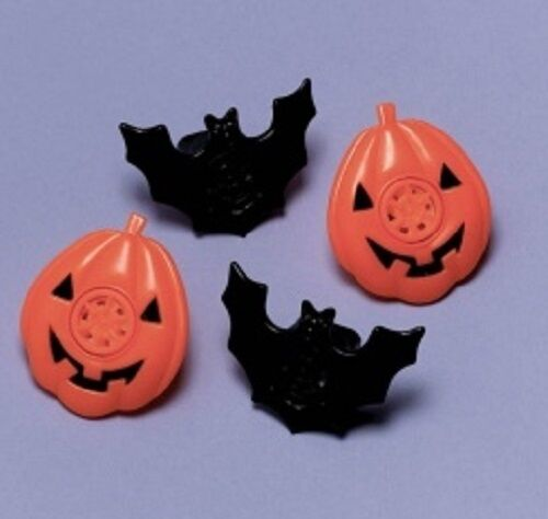 8 x Sirenen Heuler Fledermaus Kürbis tolles Mitgebsel Kindergeburtstag Halloween