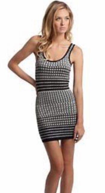 231a95e159 Buy Guess by Marciano Women s Striped Jacquard Tank Dress Size S ...