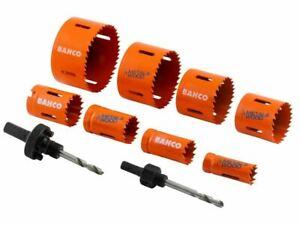 Bahco Electrician's Bi-Metal Holesaw Set 10 Piece BAH383482EL