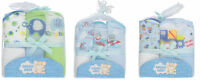 Snugly Baby Boys Hooded Towels 3-pack Brand