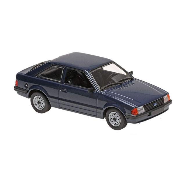 Maxichamps 940085000 Ford Escort Azul Oscuro Escala 1:43 Coche a Escala Nuevo !°
