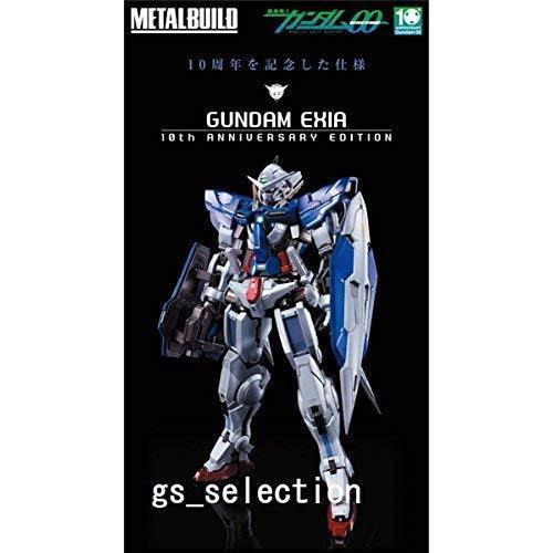 Acumulación de metal GN-001 Gundam Exia 10th Edición De Aniversario Bandai limitado Japón Nuevo