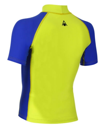 green Aqua Sphere BIX Rash Guard Kinder UV-Shirt NEU !!