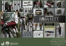 Star Wars Boba Fett Quarter Scale 1/4 Hot Toys/Sideshow Figure EXCLUSIVE Version