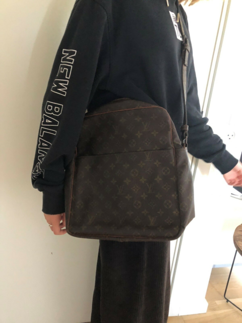 Crossbody, Louis Vuitton, læder, Vintage Louis Vuitton…
