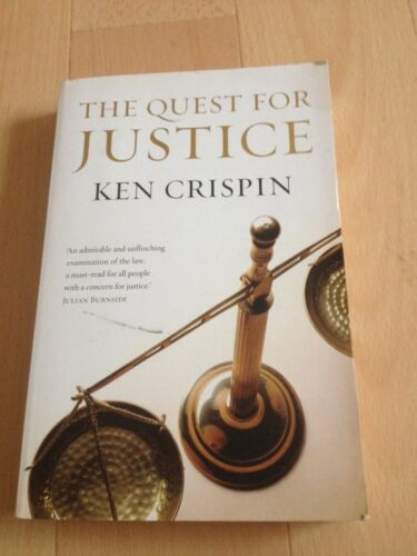 1 of 1 - KEN CRISPIN, THE QUEST FOR JUSTICE.