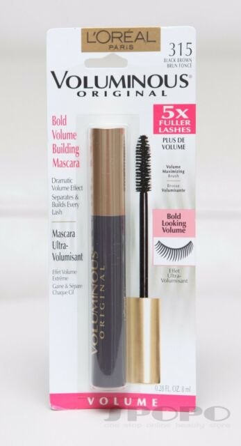 a4c162d14ae Loreal Paris Voluminous Original Mascara 315 Black Brown (set of 2 ...