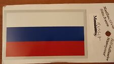 BRAND NEW BEST QUALITY RUSSIA FLAG VINYL STICKER ADHESIVE DECAL REFLECTIVE AUTO