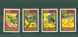 Curacao-2012-Fruechte-Obst-Melone-Ananas-Mango-Banane-Fruits-Nr-97-100-mnh