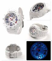 Bga-170-7b2 White Casio Baby-g Watches Analog Digital Resin Band 100m Box Packy