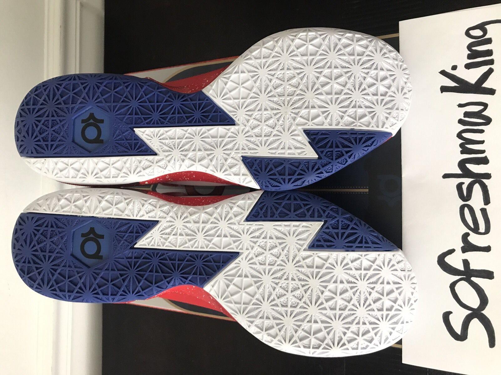 innovative design 1391e e088a Galaxy Nerf Nike Zoom Kd 6 Paris Sz 13 13 13 Autographed Box W Receipt!