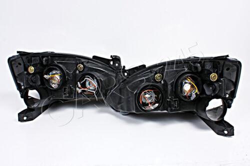 Headlights Lamps PAIR Fits OPEL Corsa C Facelift 2004-2006