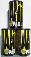 3 Animal Pak Sports Multivitamins Universal 132 Packets Bodybuiding 3 Packs