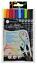 Pack-10-Permanent-Callicreative-Duo-Brush-Tip-Coloured-Dual-Nib-End-Pens-MM7005 thumbnail 2