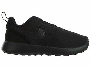 Nike Roshe One Toddlers 749430-031 Black Mesh Athletic Shoes Baby Size 4